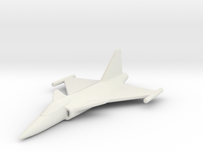 1/285 (6mm) JAS39 Gripen  in White Natural Versatile Plastic