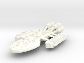 Battlestar Ramses in White Processed Versatile Plastic