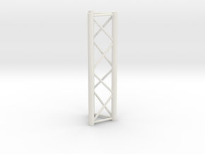 Truss, miniature 1:10 in White Strong & Flexible