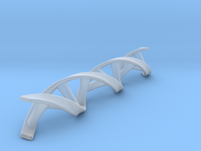 DNA double helix in Smooth Fine Detail Plastic