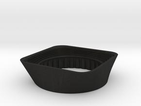 Lens Hood Wide - 90mm f6.8 Angulon in Black Acrylic