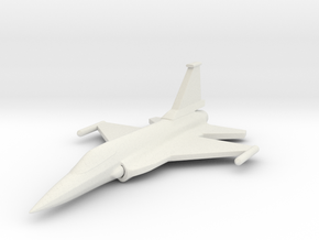 1/285 (6mm) JF-17 Fighter  in White Strong & Flexible