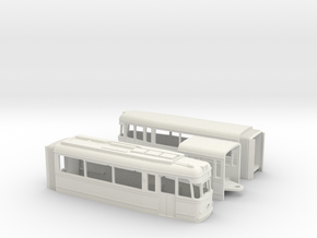 Tram Gotha G4-61 in White Natural Versatile Plastic