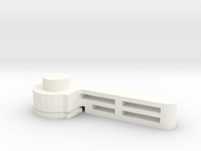 Bugaboo Brake Lever in White Processed Versatile Plastic