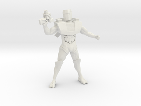 Spacey Box Head 1.75 in White Natural Versatile Plastic
