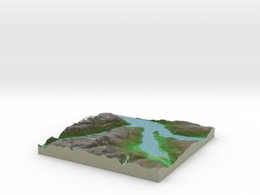 Terrafab generated model Mon Dec 09 2013 11:39:02  in Full Color Sandstone