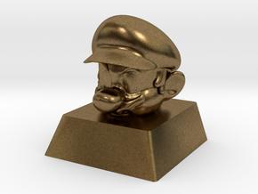 Cherry MX Mario Keycap in Natural Bronze