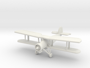 "1:200 Fairey Swordfish ""Torp armed"" in White Natural Versatile Plastic"