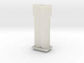 Cannons for Turret MK II in Transparent Acrylic