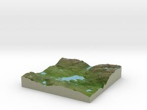 Terrafab generated model Sun Dec 08 2013 21:09:40  in Full Color Sandstone