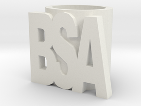 Bsa Slide in White Natural Versatile Plastic