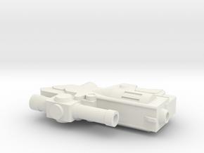 Classics Deceptive Leader Gun in White Natural Versatile Plastic