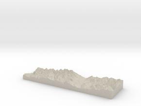 Model of Frisco in Natural Sandstone