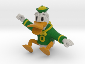 Oregon Duck Figurine or Ornament in Full Color Sandstone