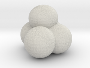 Snow Ball Pile in Full Color Sandstone