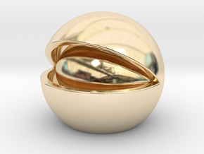Nut in 14K Yellow Gold