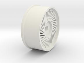 Design Miniz AWD Rims in White Natural Versatile Plastic