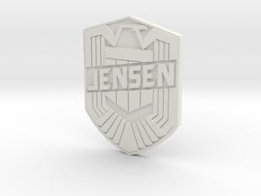 Jensen Sml in White Natural Versatile Plastic