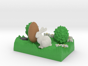 The Easter Bunny Smaller in Full Color Sandstone