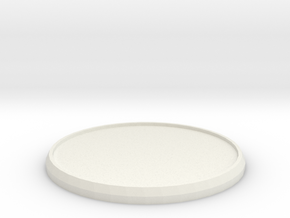Round Model Base 45mm in White Natural Versatile Plastic