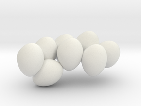 HYLONOMUS 7cm 2/2 (only eggs) in White Natural Versatile Plastic
