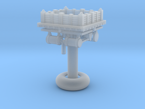 Tesla Defense Tower - VSF in Smooth Fine Detail Plastic