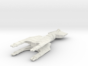Inquisitor Light Cruiser in White Natural Versatile Plastic