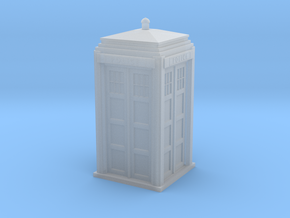 Police Signal (telephone) Box - OO (1:76) scale in Smooth Fine Detail Plastic