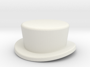 CoachHat2 in White Strong & Flexible
