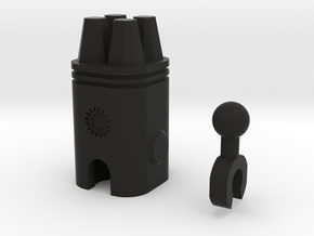 Sunlink - 3mm:4 Gun Pod in Black Strong & Flexible