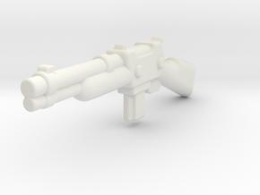 ZombieShotgun1 in White Natural Versatile Plastic