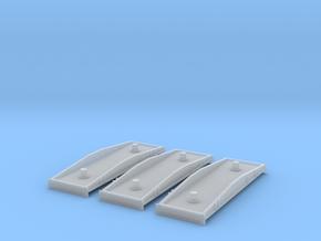3 Rlmmps Schwerlastwagen Spur Z in Smooth Fine Detail Plastic