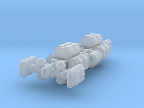Cargo Tug: Loaded in Smooth Fine Detail Plastic
