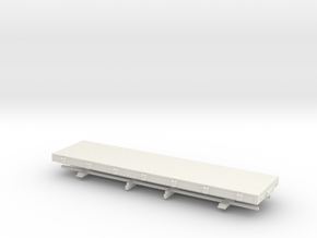 5.5n3 28 ft flat car in White Strong & Flexible