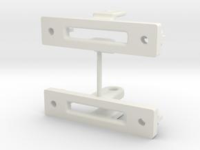 Magnet suspension test in White Natural Versatile Plastic