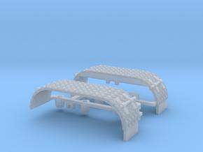Kotflügel-doppel mit Krähenfußblech-neu -WLF  in Frosted Ultra Detail