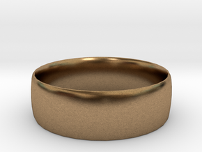 men's and women's ring size 11 in Natural Brass