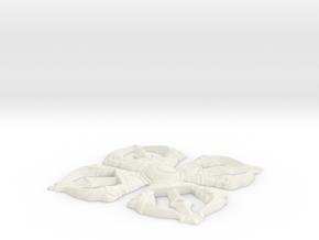 double vajra in White Natural Versatile Plastic