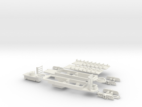 Rom Stanga chassis in White Strong & Flexible