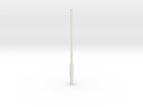 Laternenmast N in White Natural Versatile Plastic