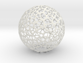 Sphere 9 in White Strong & Flexible