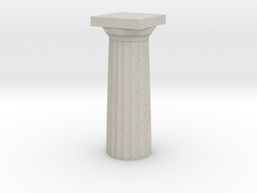 Parthenon Column Top 1:100 in Natural Sandstone