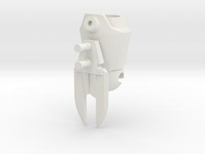 arm Slice in White Natural Versatile Plastic