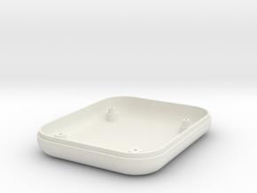 ETA Case Bottom in White Natural Versatile Plastic