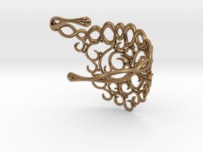 Arabesque Bracelet in Natural Brass