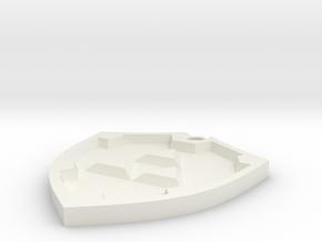 Hyrule Shield in White Strong & Flexible