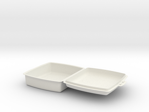 sandwichera simple in White Natural Versatile Plastic