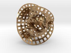 Fermat Space in Natural Brass