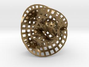 Fermat Space in Natural Bronze
