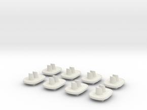 Stoplicht 2lichts (8st.) in White Natural Versatile Plastic
